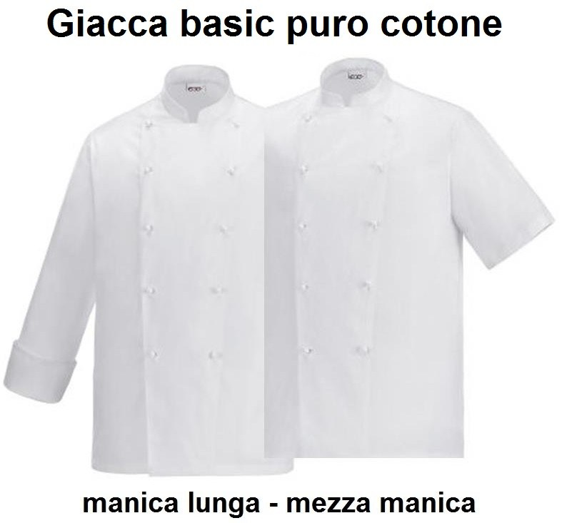 GIACCA CUOCO BASE