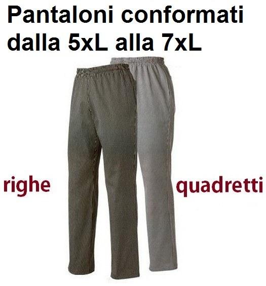 PANTALONI CUOCO CONFORMATI