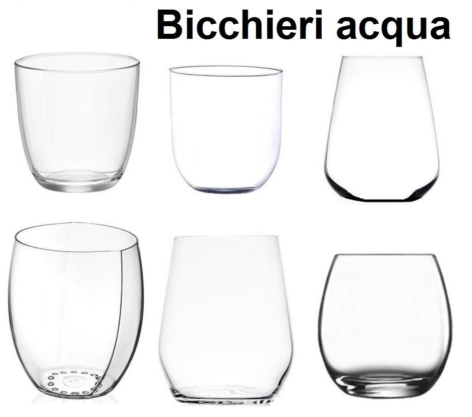 BICCCHIERI TAVOLA SERIE