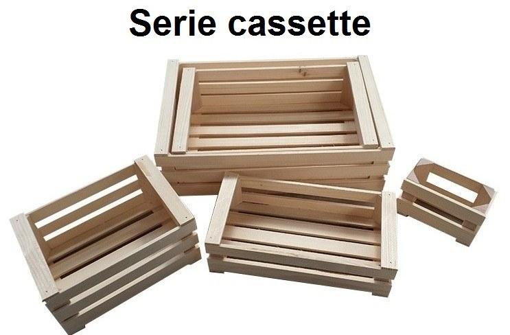 CASSETTA LEGNO  SERIE