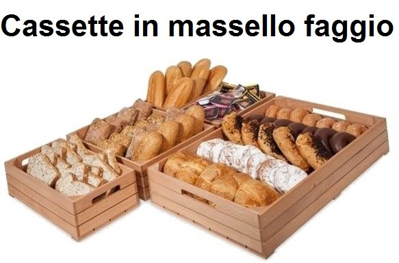 SERIE CASSETTE LEGNO FAGGIO