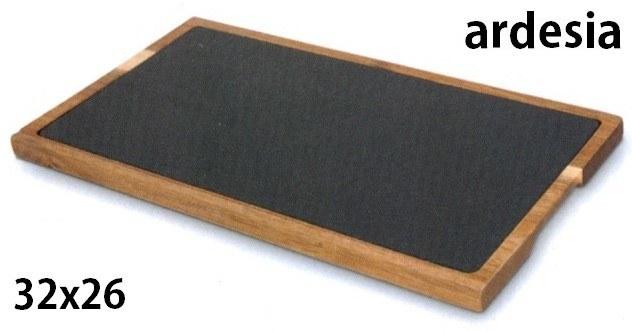 ARDESIA C/TAGLIERE cm 32,5x26