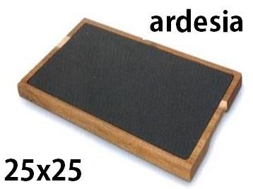 ARDESIA C/TAGLIERE cm 25x25
