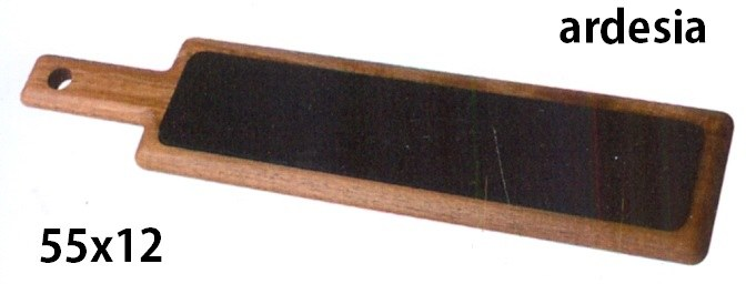ARDESIA C/TAGLIERE cm 55x12