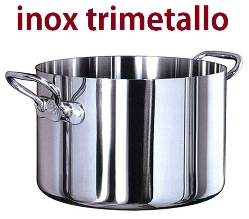 CASS.2M ALTA INOX TRIMETALLO