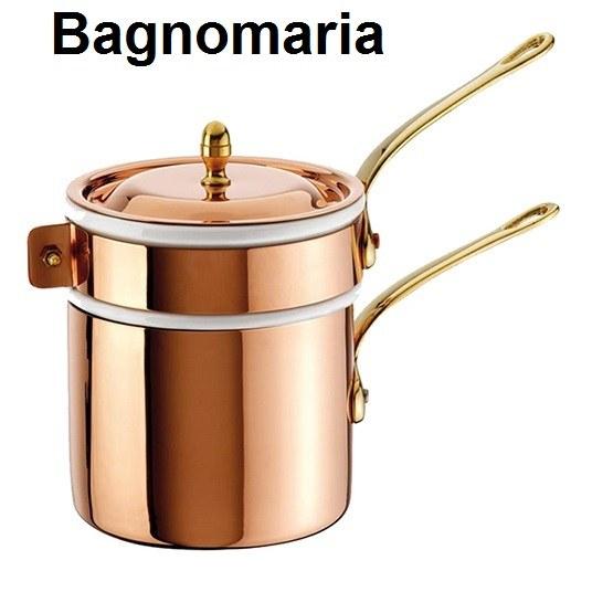 BAGNOMARIA RAME/PORC.