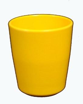 BICHIERE MELAMINA giallo