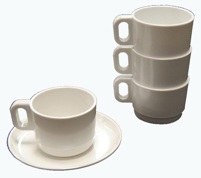 TAZZA CAFFE' MELAMINA cl. 9