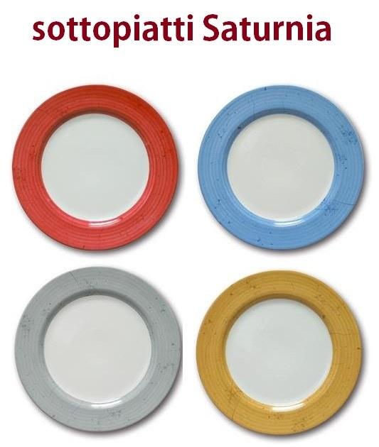 SERIE SOTTOPIATTI SATURNIA
