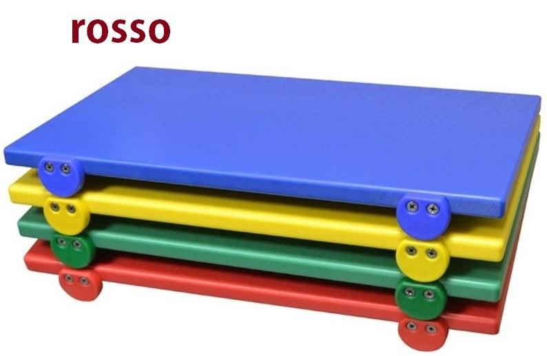 TAGLIERE C/F 50x30x2 rosso