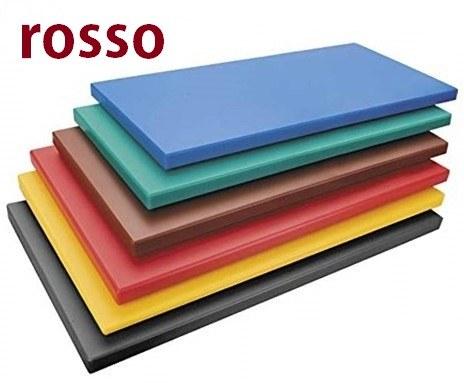 TAGLIERE ROSSO cm.50x30x2