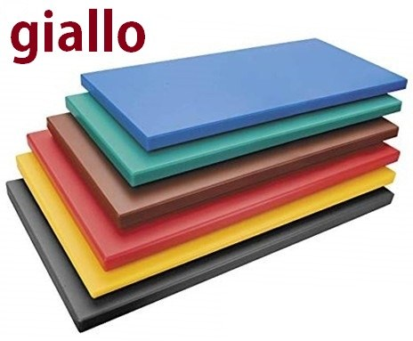 TAGLIERE GIALLO cm.50x30x2