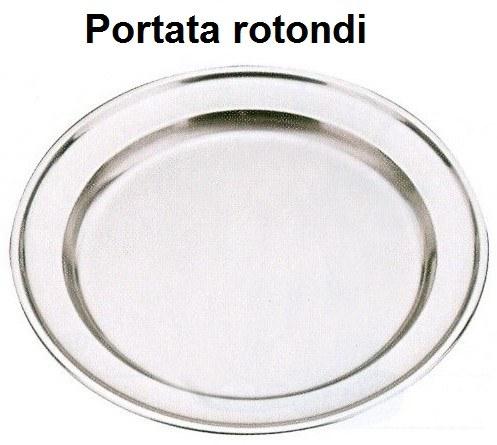 VASSOI INOX ROTONDI