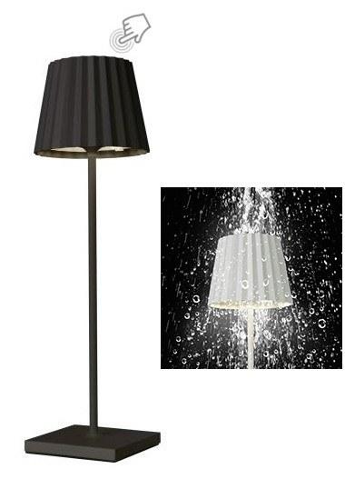 TROLL BLACK LAMPADA TAVOLO